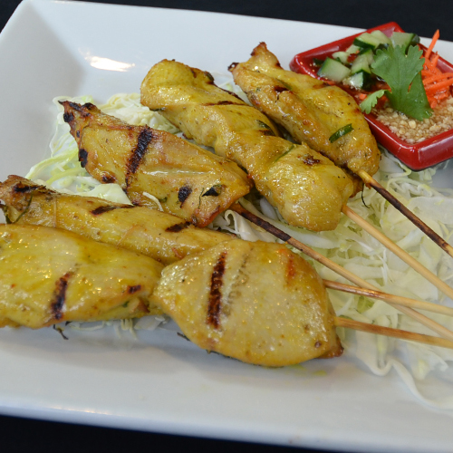 Thai Bamboo Chicken Satay