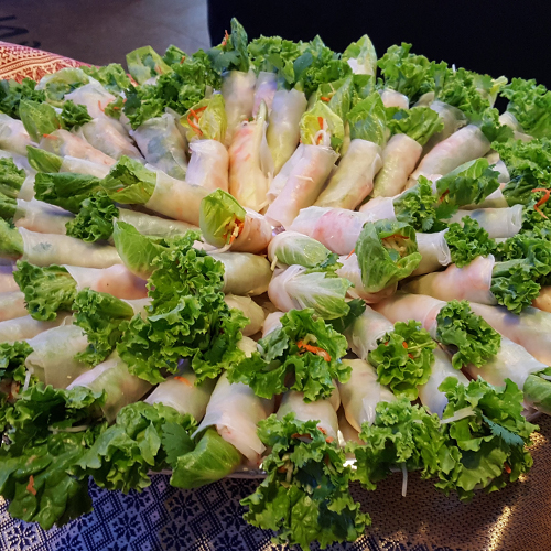 Thai Bamboo Fresh Roll Spokane