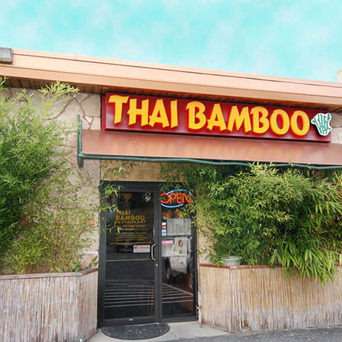 Thai Restaurant In The South Hill Bamboo